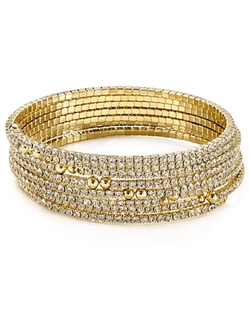 Gold Tone Plated Brass Bangles by ABS by Allen Schwartz in The Last Witch Hunter