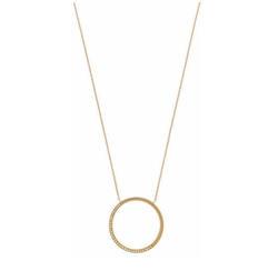 Open Circle Pavé Crystal Pendant Necklace by Michael Kors in Kong: Skull Island