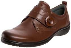 Clay Monk Strap Shoes by Ecco in Black-ish
