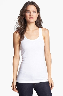 Ribbed Tank Top by Splendid in Unfriended