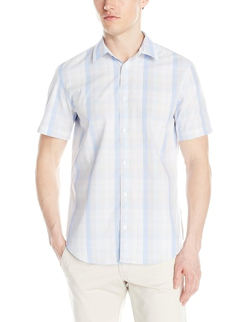Dobby Checked Shirt by Sean John in Straight Outta Compton