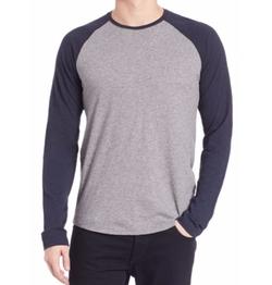 Slub Raglan T-Shirt by Vince  in XOXO