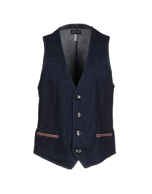Denim Vest by Armani Jeans in The Best of Me