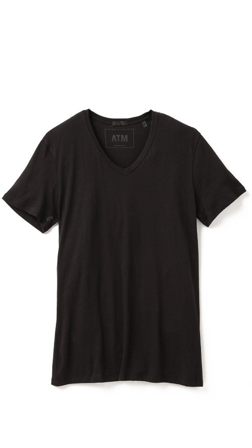V Neck Vintage Jersey T-Shirt by ATM Anthony Thomas Melillo in John Wick