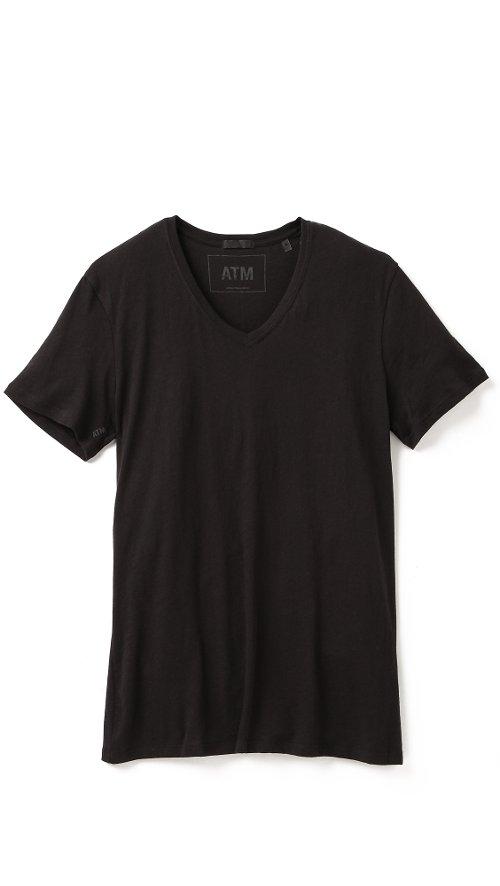 V Neck Vintage Jersey T-Shirt by ATM Anthony Thomas Melillo in John Wick