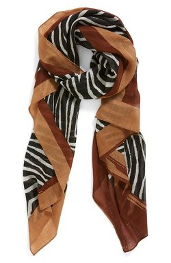 Animal Print Wool Scarf by Tory Burch in Sherlock Holmes: A Game of Shadows