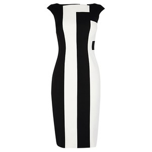 Vertical Stripe Dress by Karen Millen in Empire - Season 2 Episode 8