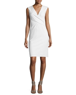 Leora Sleeveless Crepe Sheath Dress by Diane Von Furstenberg in Suits