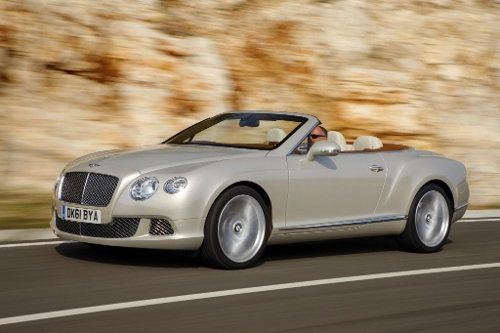 Continental GT Convertible Luxury Car by Bentley in Entourage