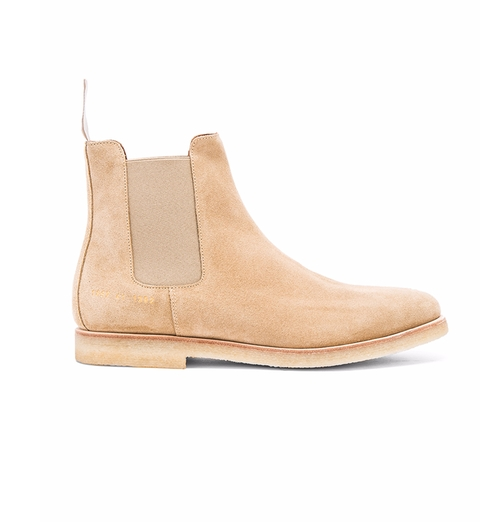Suede Chelsea Boots by Common Projects in Keeping Up With The Kardashians - Season 12 Episode 15