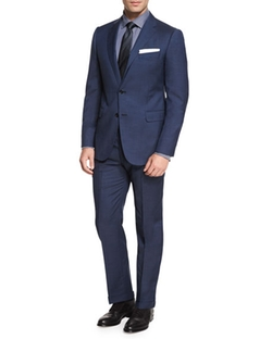 M-Line Solid Two-Piece Suit by Armani Collezioni in The Bachelorette