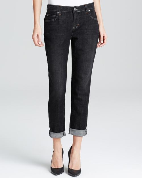Boyfriend Jeans In Vintage Black by Eileen Fisher in Pretty Little Liars - Season 6 Episode 2