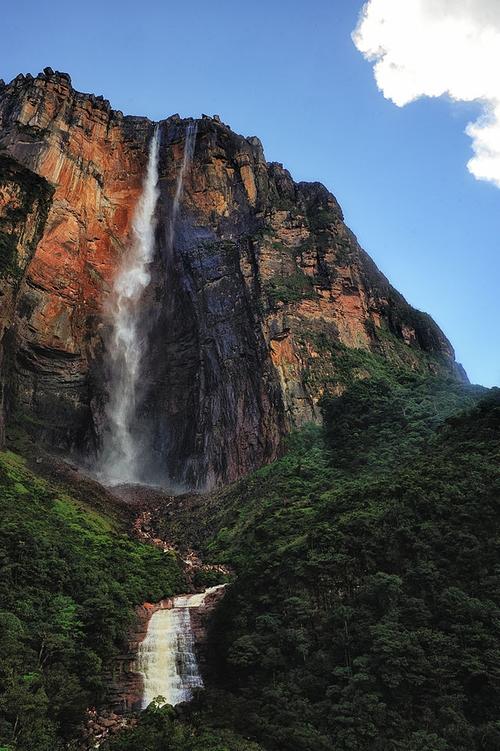 Angel Falls Bolívar State, Venezuela in Point Break