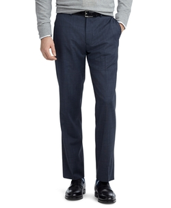 Fitzgerald Fit Plain-Front Mohair Dress Trousers by Brooks Brothers in Kingsman: The Secret Service