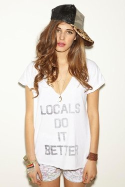 Locals Do It Better Logan T-Shirt by Local Celebrity in The DUFF