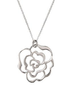 Silver Flower Cutout Necklace by Argento Vivo in Vampire Academy