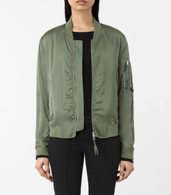 Kuma Bomber Jacket by All Saints in The Bold Type