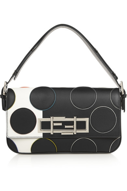 Baguette Polka-Dot Leather Shoulder Bag by Fendi in Empire - Season 2 Episode 11