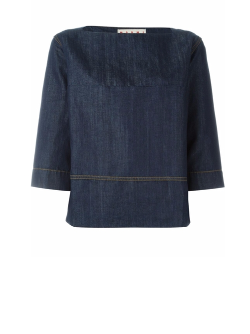 Denim Top by Marni   in Empire - Season 2 Episode 13
