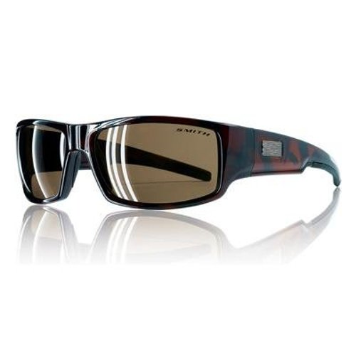 Lockwood Tortoise Brown Polarized Sunglasses by Smith Optics in The Town