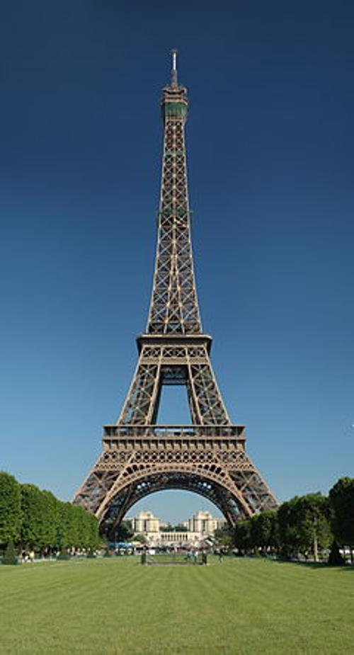 Eiffel Tower Paris, France in Lucy