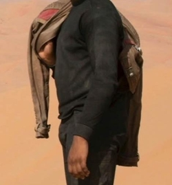 Custom Made Long Sleeve Shirt by Michael Kaplan (Costume Designer) in Star Wars: The Force Awakens