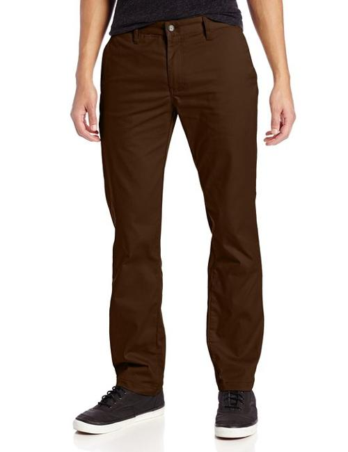 Men's Frickin Modern Stretch Pant by Volcom in Tammy