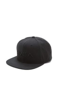 Snapback III Cap by RVCA in Dope