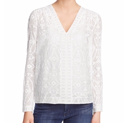Embellished Top by Rebecca Taylor in New Girl