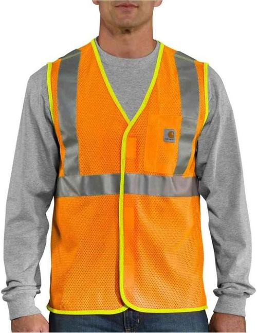 Men's Big High-Visibility Vest by Carhartt in Prisoners