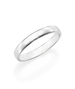 Platinum Wide Court Wedding Band Ring by De Beers in The Second Best Exotic Marigold Hotel