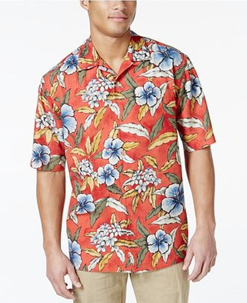 Garden of Hope and Courage Silk Shirt by Tommy Bahama in Scarface