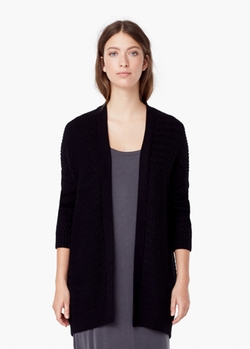 Textured Cotton Cardigan by Mango in The Vampire Diaries