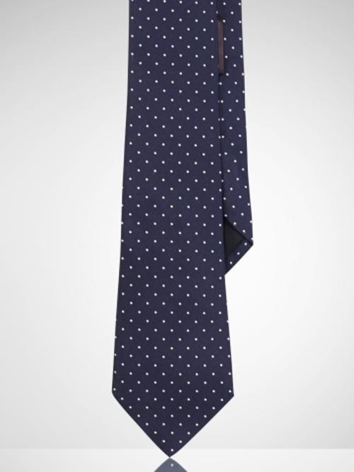 Peau de Soie Dotted Tie by Ralph Lauren Black Label in The Judge