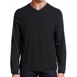 Colorblock V-Neck Sweater by Zachary Prell in New Girl