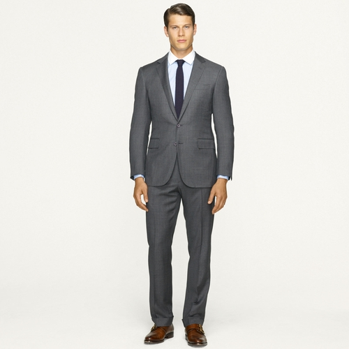 Anthony Sharkskin Suit by Ralph Lauren in Suits - Season 5 Episode 7
