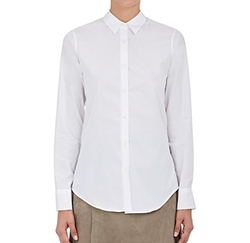 Cotton Button-Down Shirt by Barneys New York in Maze Runner: The Death Cure