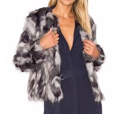 X Revolve Averly Faux Fur Coat by Tularosa in Empire