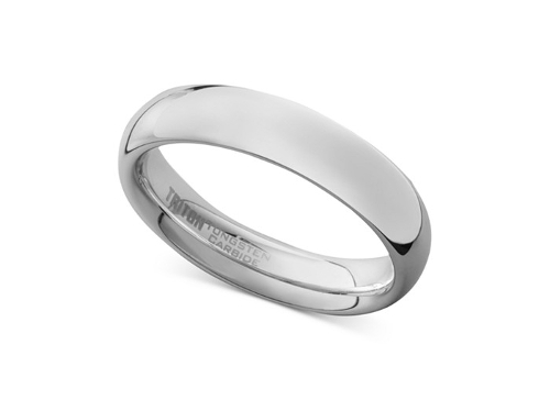 Dome Wedding Band Ring by Triton in The Longest Ride