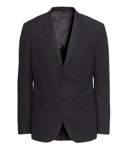 Wool-Blend Blazer by H&M in Secret in Their Eyes