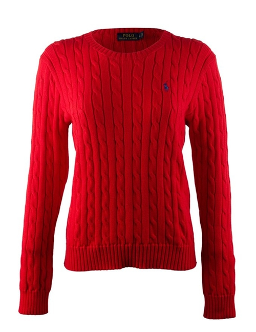 Crew-Neck Cable-Knit Sweater by Polo Ralph Lauren in How To Be Single