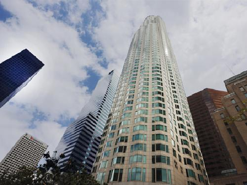 Regus US Bank Tower Los Angeles, California in Walk of Shame