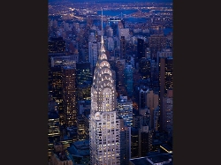 New York City, New York by Chrysler Building in Fantastic Four