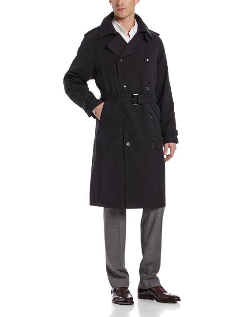 Men's Double Breasted Raincoat by London Fog in A Walk Among The Tombstones