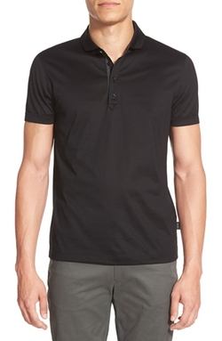 Treviso Mercerized Jersey Polo Shirt by Boss in Modern Family