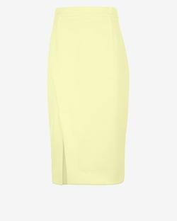Bonded Slit Pencil Skirt by Nicholas in Scream Queens