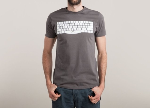 Spacebar Tee by Threadless in The Flash - Season 2 Episode 4