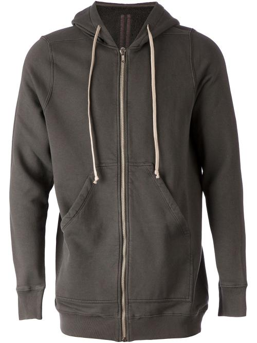 Zipped Hoodie by Rick Owens Drkshdw in The Other Woman