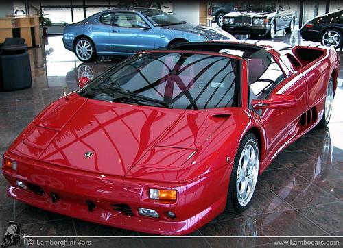 1995 Diablo VT Roadster by Lamborghini in Pain & Gain