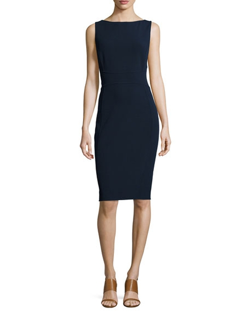 Sleeveless Bateau-Neck Sheath Dress by Michael Kors Collection in How To Get Away With Murder - Season 2 Episode 15